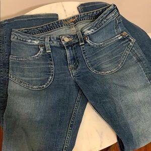 Hudson skinny bootcut jeans EUC!